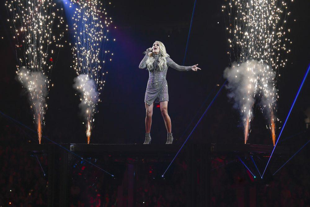 Carrie Underwood Postpones Toronto Concert for 2019 NBA Finals