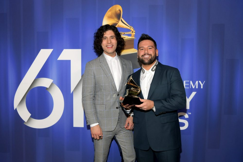 Dan + Shay (Finally) Receive Their Actual Grammy Trophies