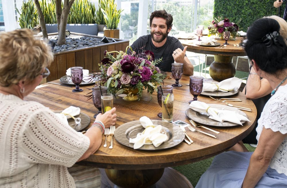 Thomas Rhett Gives Military Moms a Joyful Mother's Day Surprise