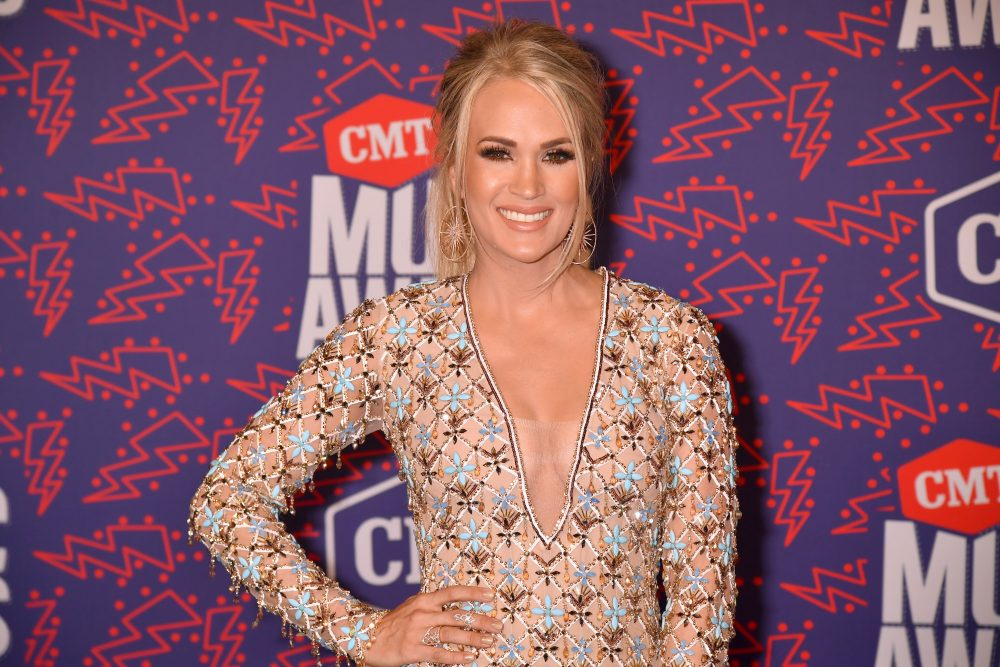 Carrie Underwood Lights Up the Night With 'Southbound' at CMT Music Awards