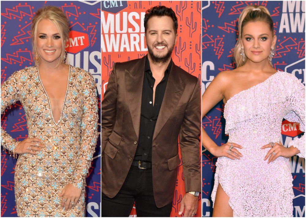 Carrie Underwood, Maren Morris, Luke Bryan + More Stun on 2019 CMT Awards Red Carpet