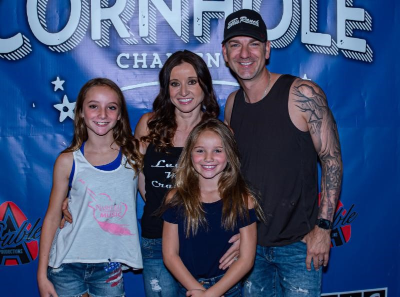 Craig Campbell and Friends Unite to Raise Awareness For Colorectal Cancer at 2019 Celebrity Cornhole Challenge